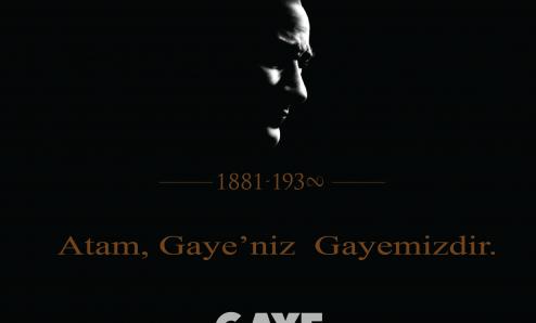10 Kasım Atatürk'ü Anma Etkinliklerine davet