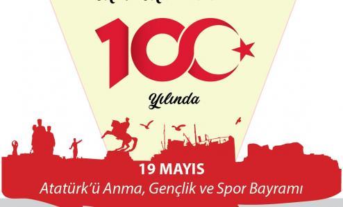 19 Mayıs Atatürk'ü Anma, Gençlik ve Spor Bayramı etkinlikleri