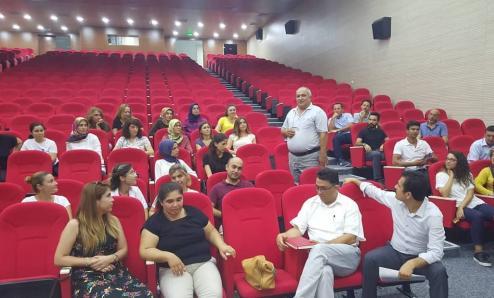 Gaye Okullarında öğretmenlerin eğitim seminerleri başladi..