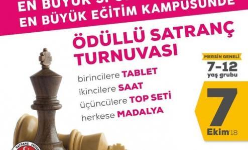 Gaye Okullarında Ödüllü Satranç Turnuvası
