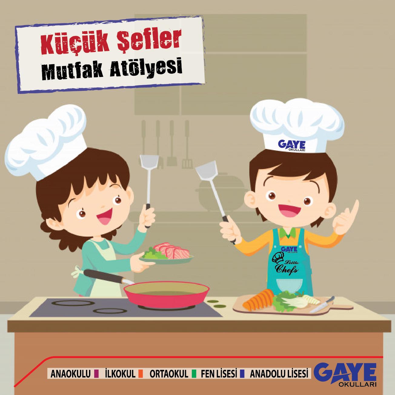 Küçük Şefler Mutfak Atölyesi