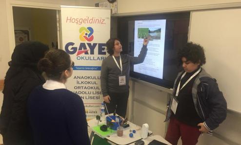 Gaziantep 3. Ulusal School Maker Faire etkinliğine katıldık