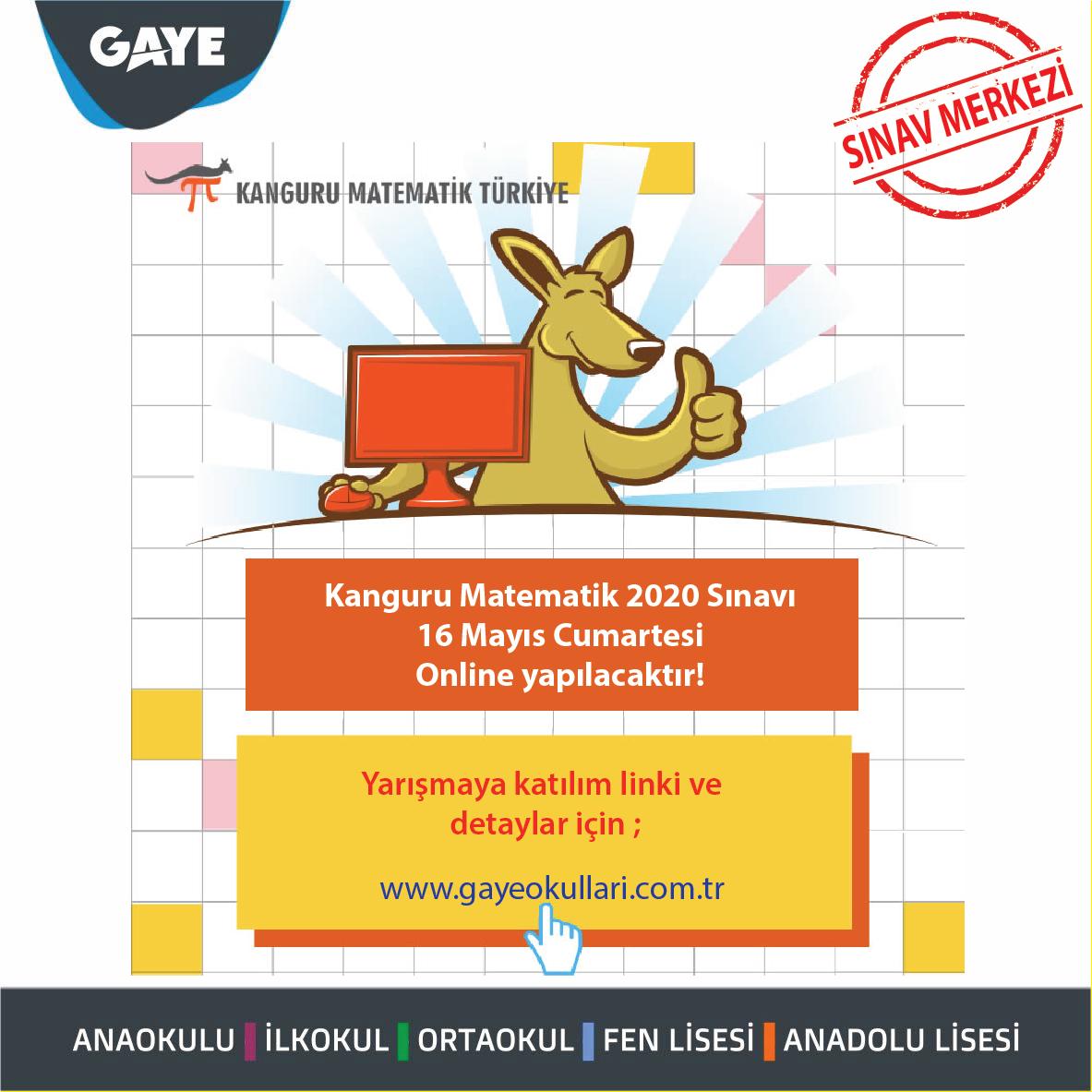 Kanguru Matematik Online Sınavı